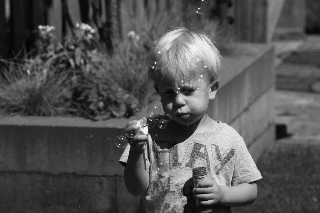 52-28---blowing-bubbles-bw-w